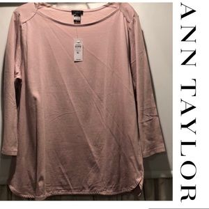 Ann Taylor Brand NEW Boatneck Tunic